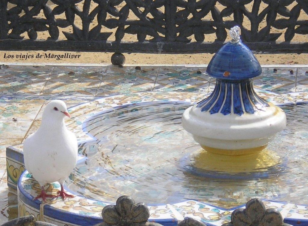 Fuente parque maria luisa, Ruta por Sevilla - Los viajes de Margalliver